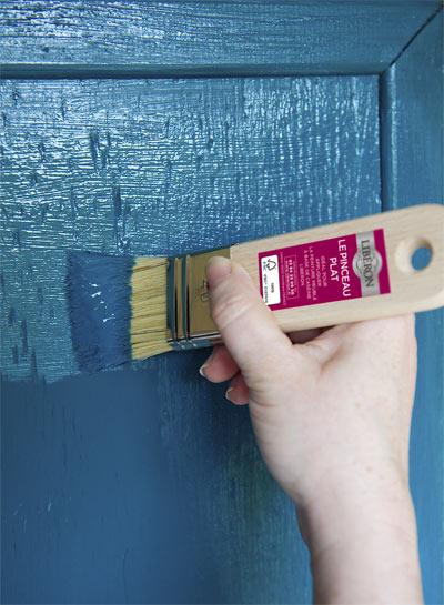 La peinture meuble base de cas ine lib ron - Peinture liberon caseine ...