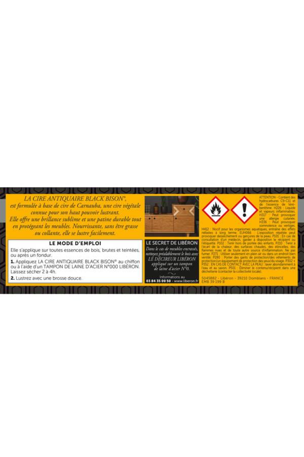 cire-antiquaire-black-bison-pate-DOS-A-PLAT-0,5L