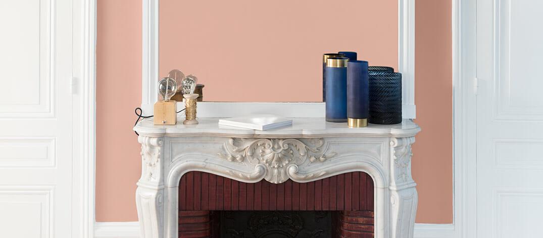 peinture-murale-couleur-rose-camee-finition-liberon