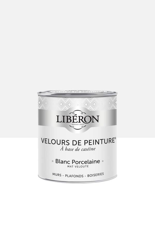 Peinture-Velours-0,5L-Blanc-Porcelaine