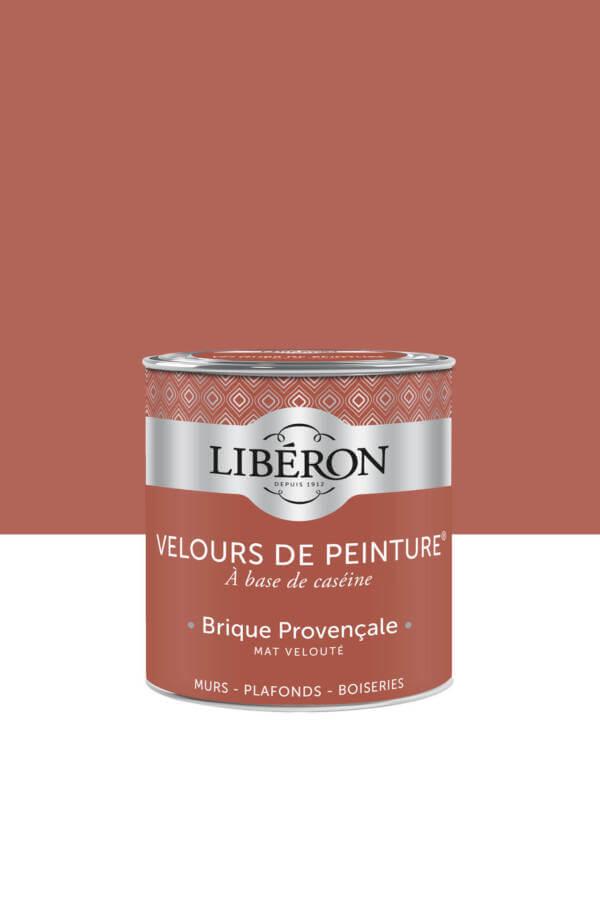 Peinture-Velours-0,5L-Brique-provencale