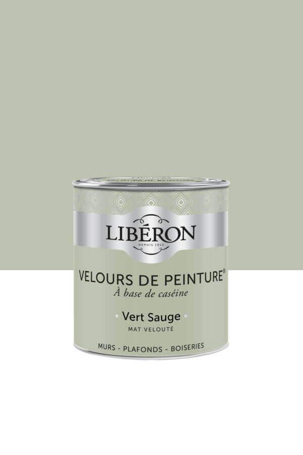 Peinture-Velours-0,5L-Vert-sauge