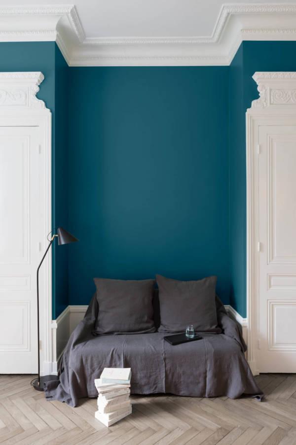 peinture-murale-Bleu-Paon