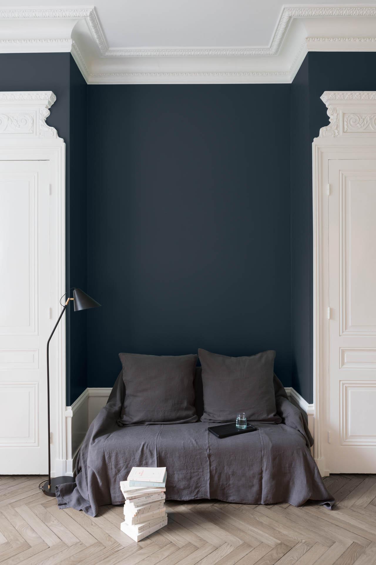 Velours De Peinture Couleur Bleu Des Vosges Liberon