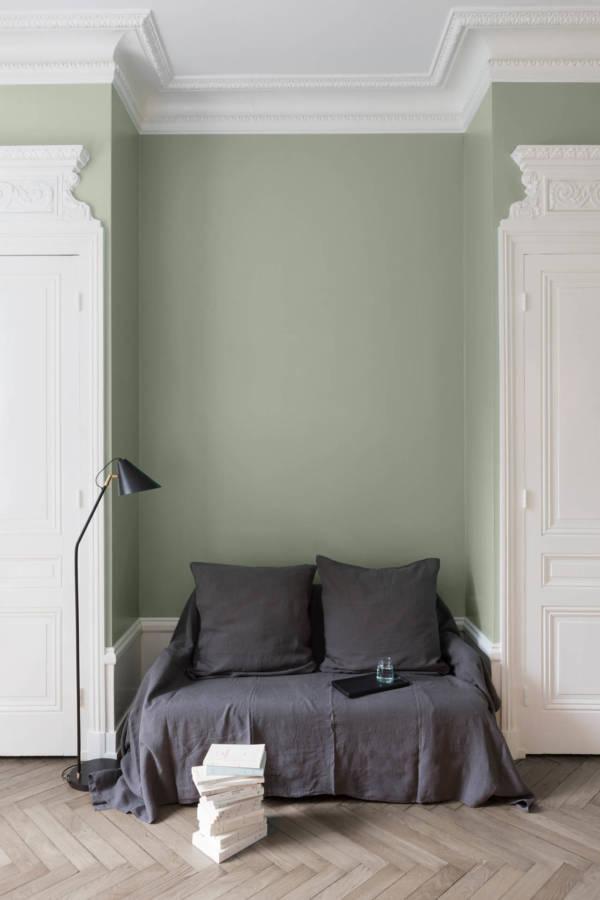 peinture-murale-Vert-Sauge