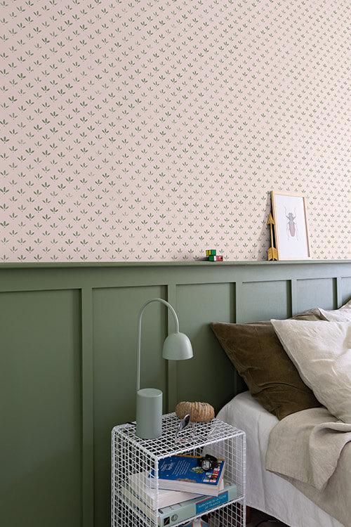 association-papier-peint-florette-n2-peinture-vert-treillis-velours-liberon