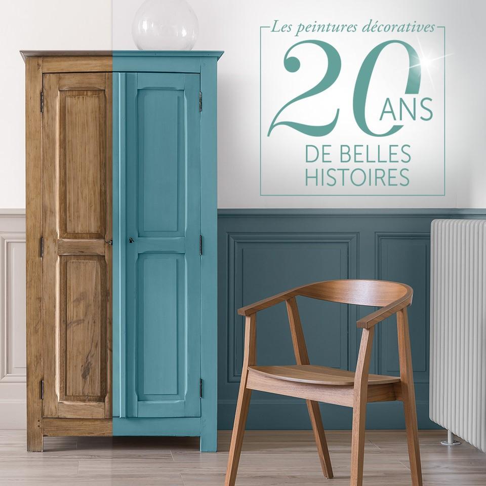 peinture caséine Belle ïle 20 ans de belles histoires Libéron carré